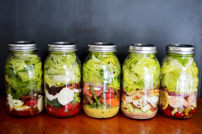 Salads in Jars | Canned | Week 08
