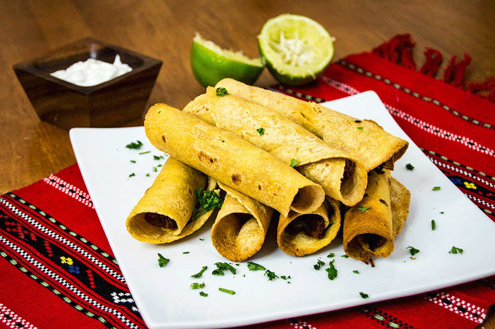 Mesquite Pork Taquitos | Air Fryer Recipes