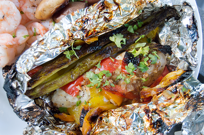 Chicken Foil Packets | Campfire Recipes