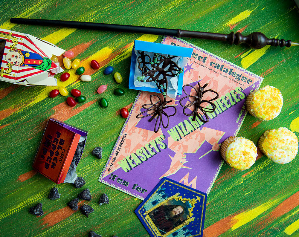 Fiery Pepper Imps & Sugared Butterfly Wings   Harry Potter